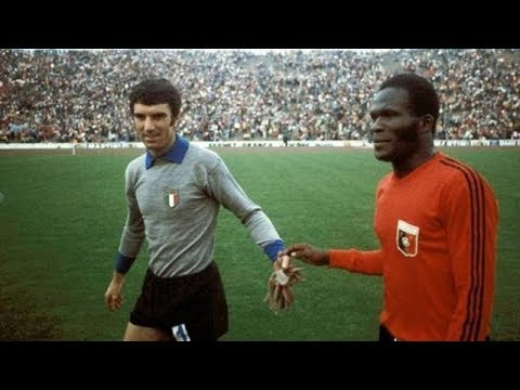 Emmanuel Sanon made history for #Haiti at the 1974 #WorldCup 🇭🇹👏