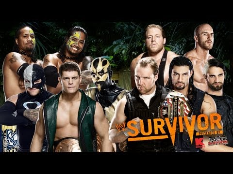 WWE - Traditional Survivor Series Elimination Match 2013 - Highlights [HD]