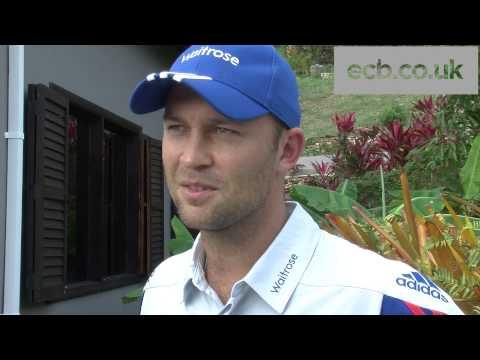 Batsman Jonathan Trott pleased to return to England fold
