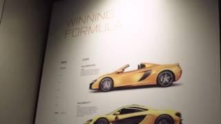 McLaren Melbourne Launch Event.