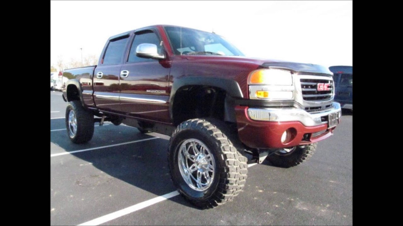 Off Road Tires For Sale >> 2003 GMC Sierra 2500 Lifted Truck For Sale - YouTube
