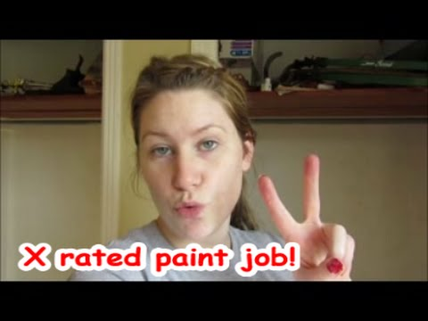 Vlog X Rated Paint Job Youtube