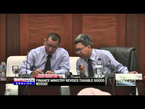 Finance Ministry Releases Revised List of Luxury Tax Goods