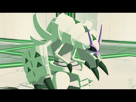 Pokemon Sun and Moon Wi-Fi Battle: Golisopod Leaves An Impression! (1080p)