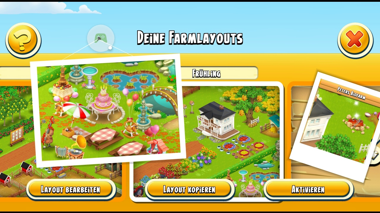 Hay Deutsch Let's Play Hay Day Deutsch Farm Layout Frühling Spring
