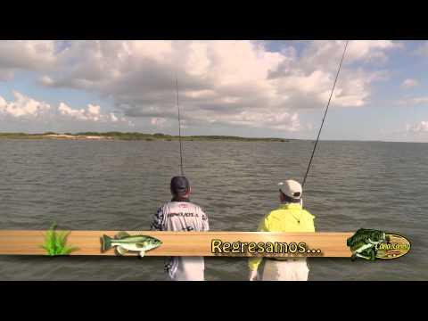 Pescando truchas y curvinas en South Padre Island