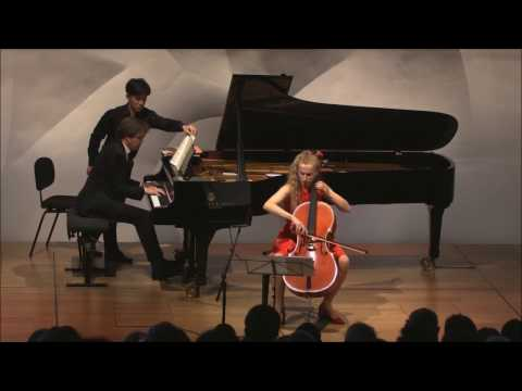 Margarita Balanas & Samuel Parent: César Franck Sonata for Cello and Piano, 2nd Movement