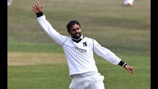 India Hanuma Vihari takes a one-handed catch on his county debut for Warwickshire