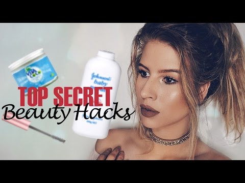 10 LIFE CHANGING BEAUTY HACKS EVERY GIRL SHOULD KNOW!  Hannah Leigh