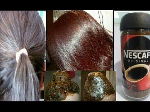 تغطية مثالية للشيب ولون شعر بني رائع مع ترطيب وتنعيم الشعر صبغة طبيعية بدون اكسجين Youtube