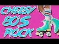 Cheesy 80's Rock Backing Track  D minor 155 BPM - YouTube