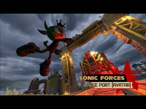Sonic Forces OST - Space Port [Avatar Stage] extended
