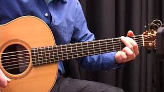 """jig of slurs"" scottish pipe jig slow lesson on guitar"