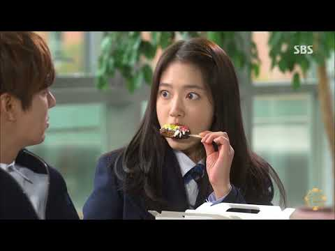 The Heirs Sweet Moments Of Kim Tan And Cha Eun Sang