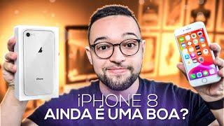 iPHONE 8 em 2020 ainda VALE A PENA? Vem conferir!!!