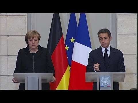 Sarkozy et Merkel pour un nouveau traité européen