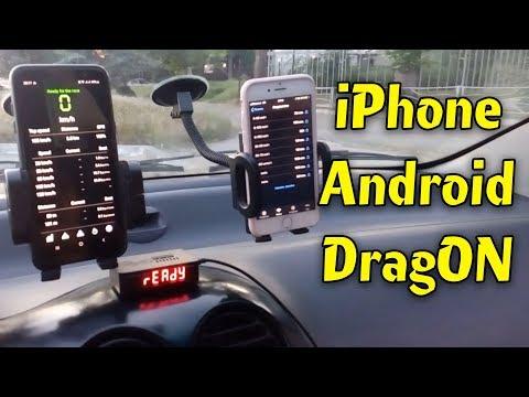 [разгон до 100 км/ч] - КТО ТОЧНЕЕ - Iphone, Android или спец прибор DragON