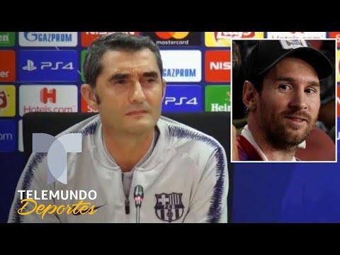 Ex crack del Barça pide reemplazar a Messi | UEFA Champions League | Telemundo Deportes