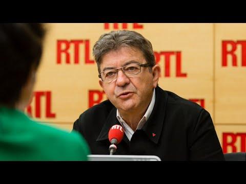 Jean-Luc Mélenchon est l'invité de RTL