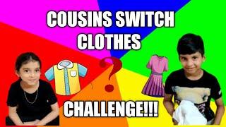 COUSINS SWITCH CLOTHES CHALLENGE!!Samaas World