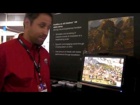 Froblins - AI simulation, tesselation, & rendering, all entirely on the GPU - SIGGRAPH 2009