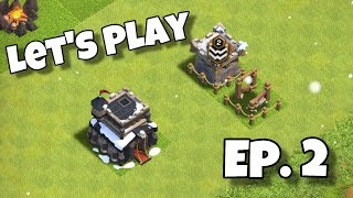 Clash of Clans LETS PLAY TH9 - EP. 2 Finally getting xbows