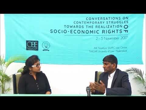 Conversations   Dr. Muttukrishna Sarvananthan   THE REALISATION OF SOCIO-ECONOMIC RIGHTS