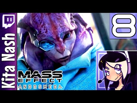Mass Effect Andromeda Livestream: JAAL THE ANGARA |Part 8| Biotic Female Ryder Gameplay Let's Play
