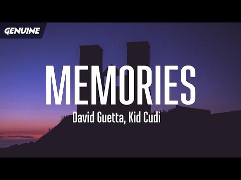 David Guetta - Memories (Lyrics) (tiktok) ft. Kid Cudi indir