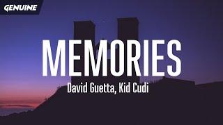 David Guetta - Memories (Lyrics) (tiktok) ft. Kid Cudi