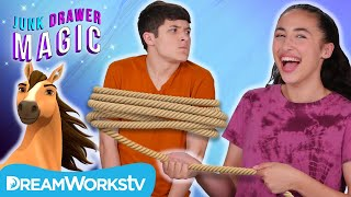 Spirit Magic Lasso Trick | JUNK DRAWER MAGIC