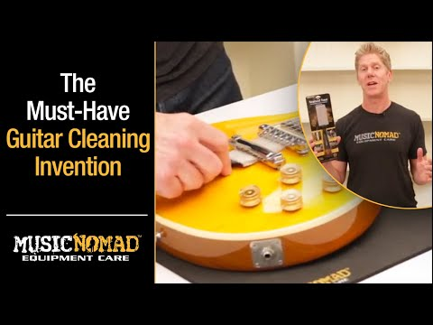 MusicNomad's The Nomad Tool for Cleaning Guitar & Bass Strings, Finishes and Hardware