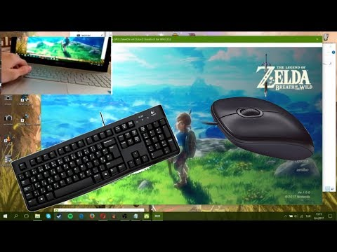 how to play zelda BOTW with keybord and mouse on cemu (1 9 link in  description)