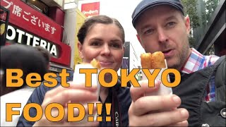 My favourite eats and food visiting Tokyo Japan - Sushi, Ramen and Snacks