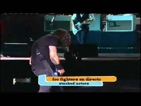 Foo Fighters - Stacked Actors (Live in Lollapalooza Chile 2012)