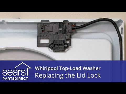 Whirlpool Cabrio Washer Bypass Lid Lock