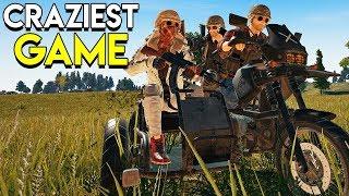 Craziest Game! - PlayerUnknown's Battlegrounds (PUBG)