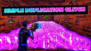 *SIMPLE* INSANE AUGUST DUPLICATION GLITCH FORTNITE SAVE THE WORLD