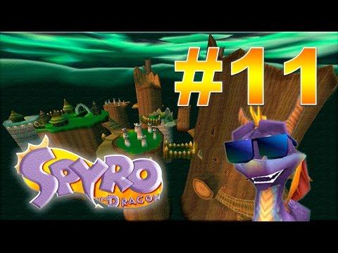 PS1 Longplay - Spyro 2 (PAL): Gateway to glimmer / Riptos rage (Full playthrough/Walkthrough)