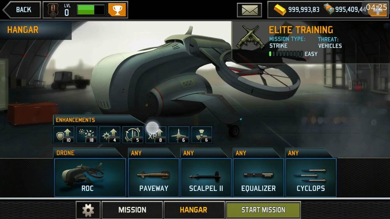 download game drone shadow strike mod money