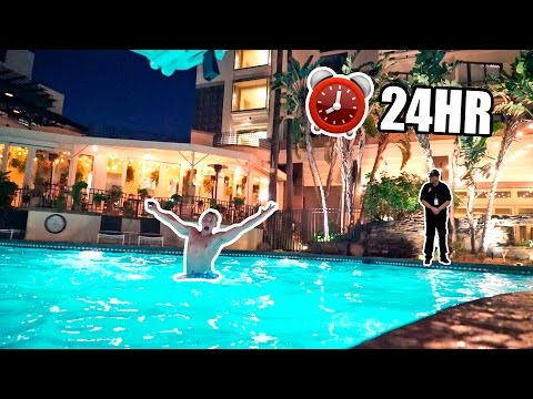 Thumbnail: SNEAKING INTO HOTEL POOL (OVERNIGHT CHALLENGE)