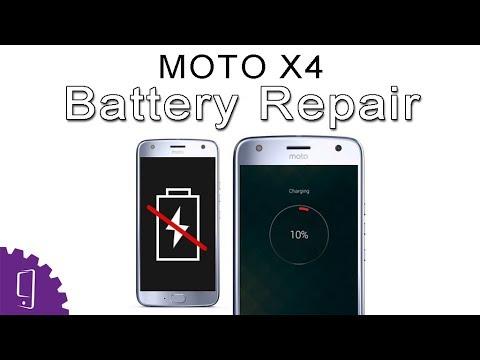 Moto X4 Battery Repair Guide