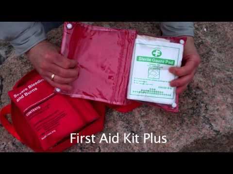 American Red Cross First Aid Kit PLUS