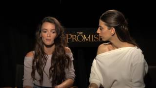 "Charlotte Le Bon and Angela Sarafyan Talk About ""The Promise"""