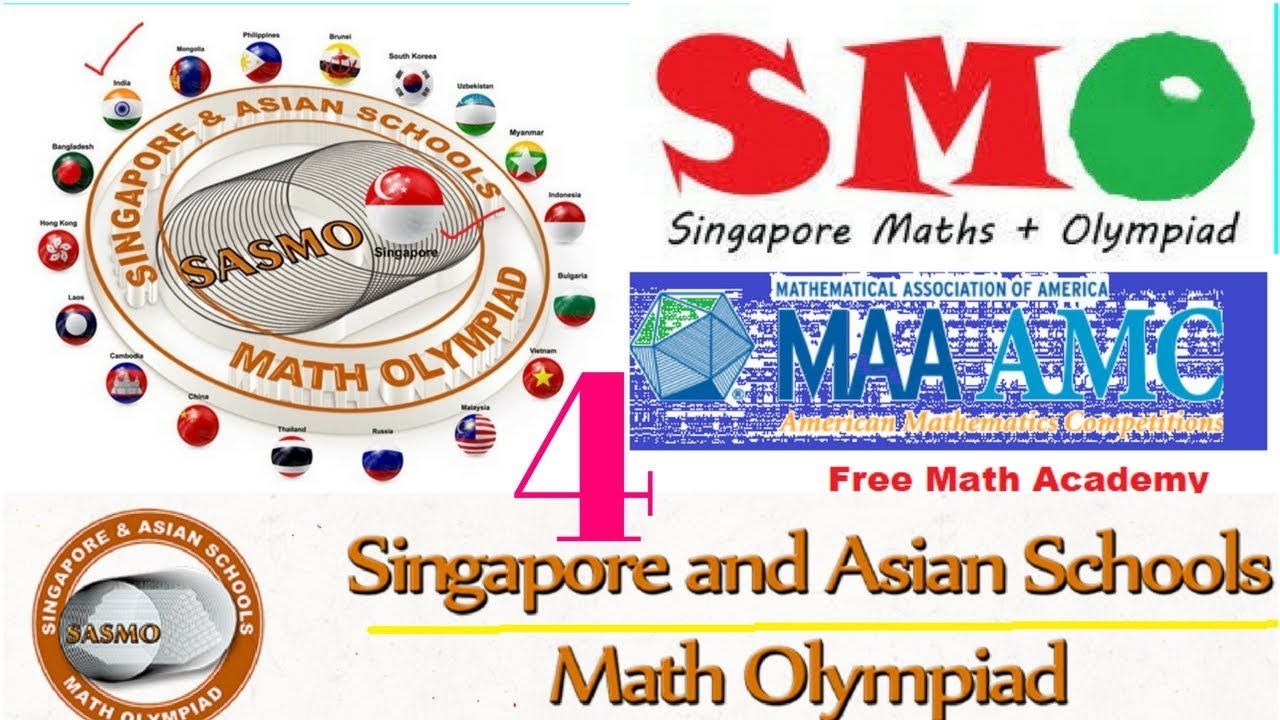 Singapore Mathematical Olympiad (smo) | sasmo 2018 ONLINE  PREPARATION||jmo|rmo|imo