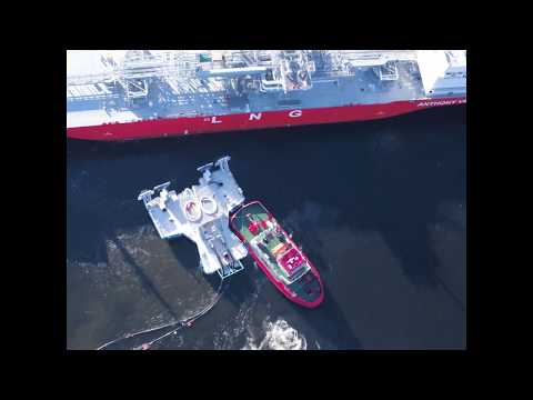 Floating transfer system by Connect LNG