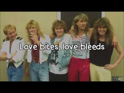 Def Leppard - Love Bites [Lyrics] HD