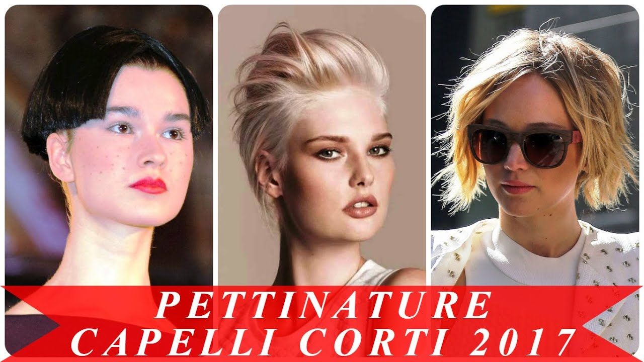 Super Pettinature capelli corti 2017 - YouTube FF82