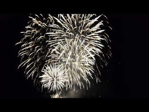 Canada 150 Fireworks - Toronto Harbor front