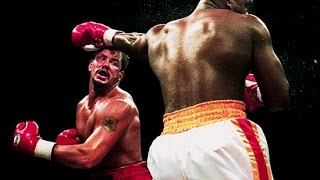Tommy Morrison vs Donovan Ruddock - Highlights (Great SLUGFEST & KNOCKOUT)